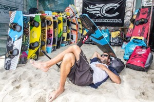 Kiteboarding equipment from Cabrinha
