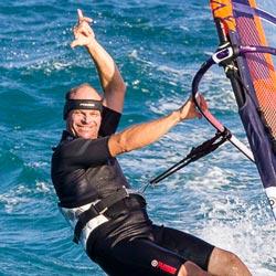 Peter Windsurfing