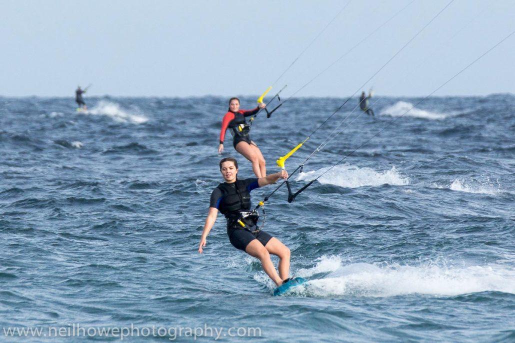 Kite arm balance trick