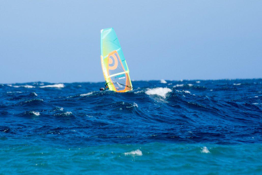 Big swell at Vela Baja