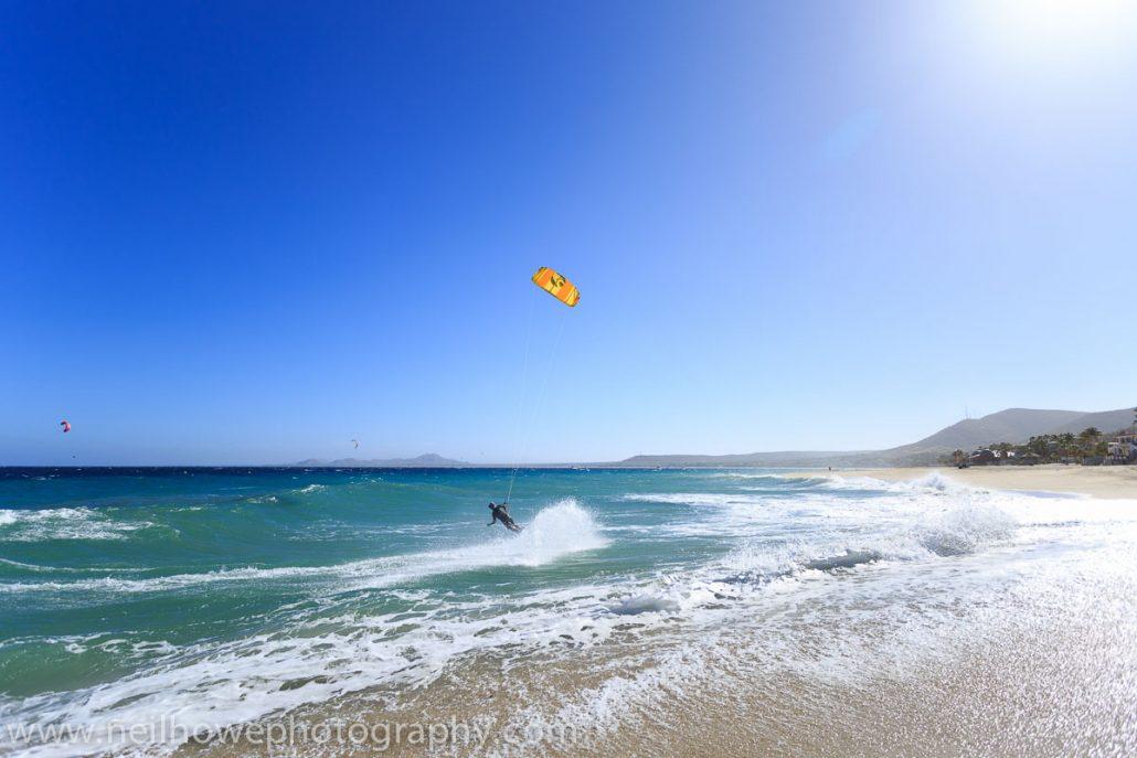 Kitesufing in Los Barriles