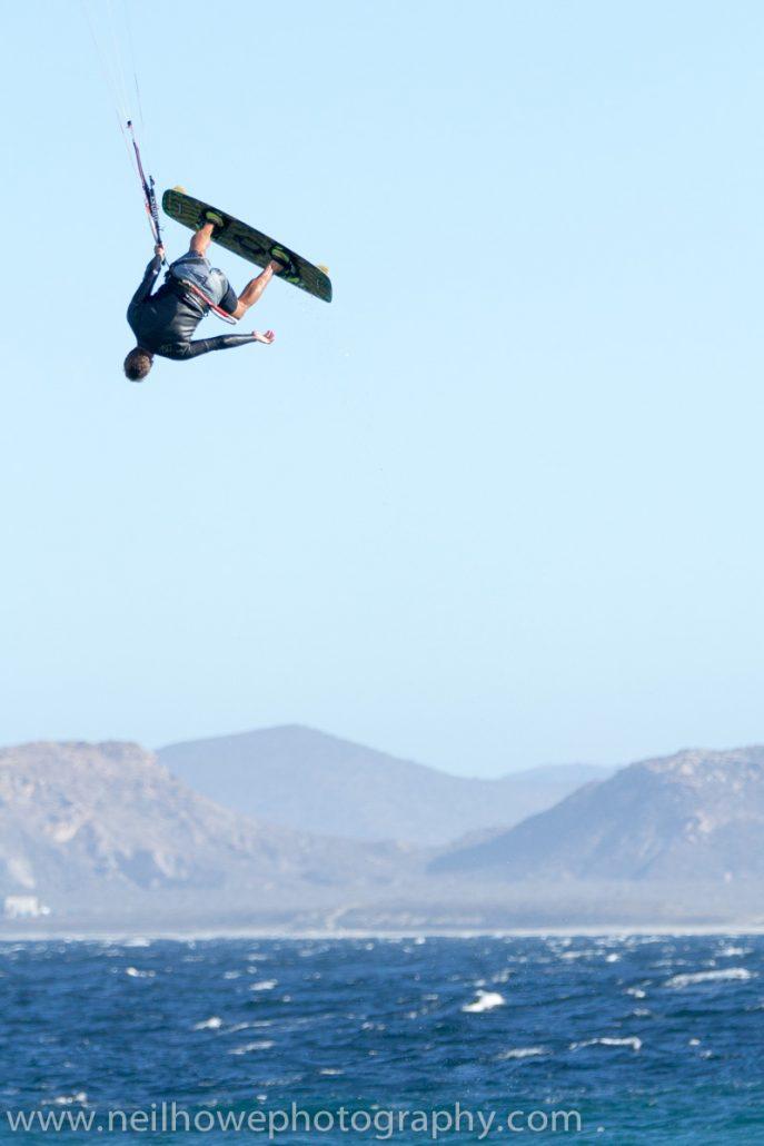 high jump at vela baja