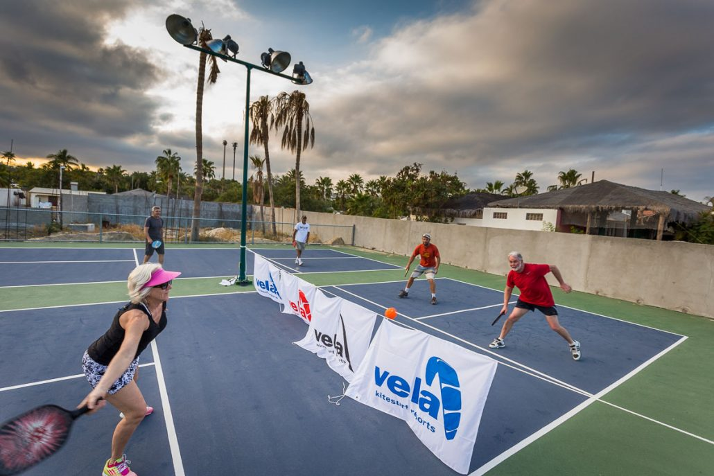 pickle ball at vela baja