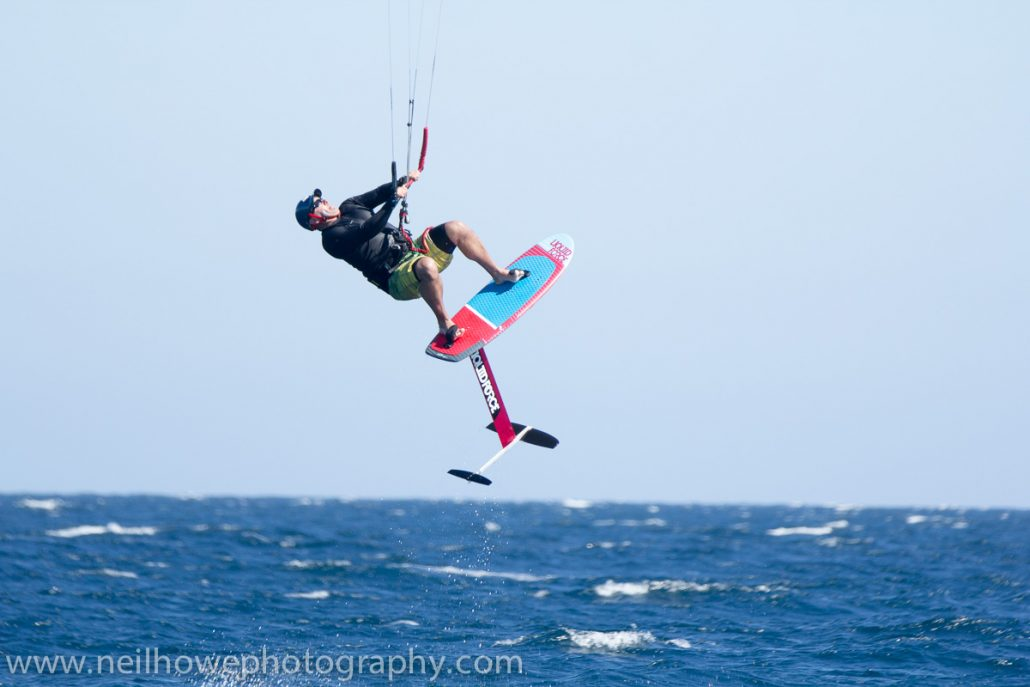 Kite foil jump
