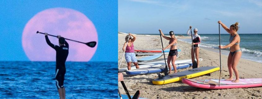 Full Blue Moon Sup Clinic with Fiona Wylde