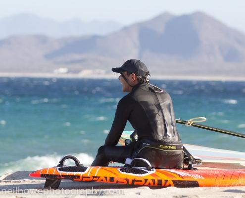 Steve enjoying the view at Vela Baja