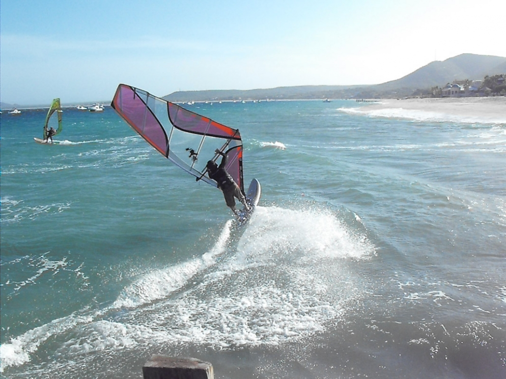 who's that guy windsurfing at Vela Baja