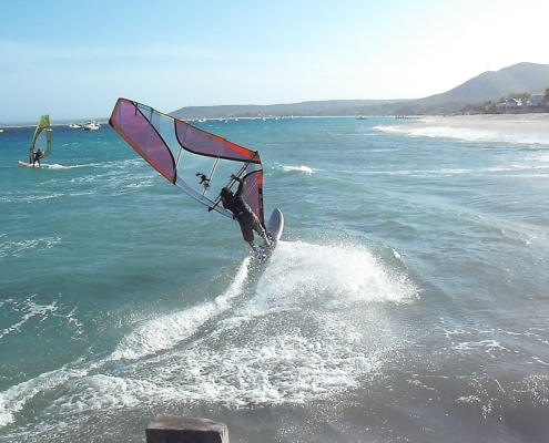 who's that guy windsurfing at Vela Baja