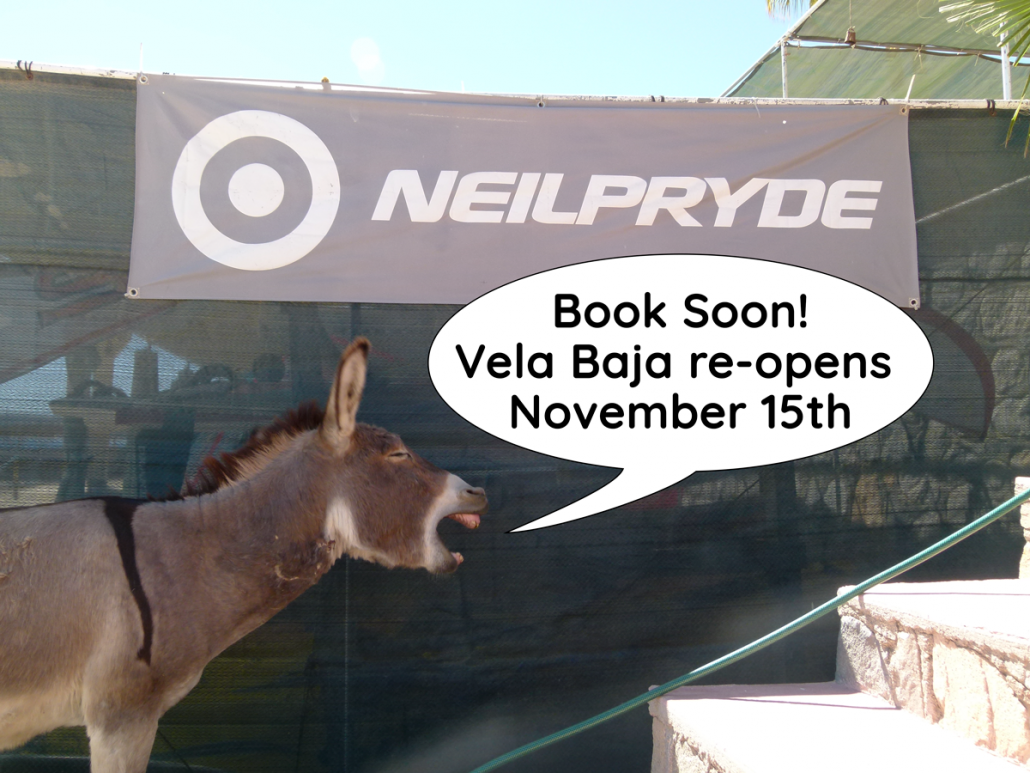 book soon vela baja