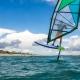 Windfoiling at Vela Baja
