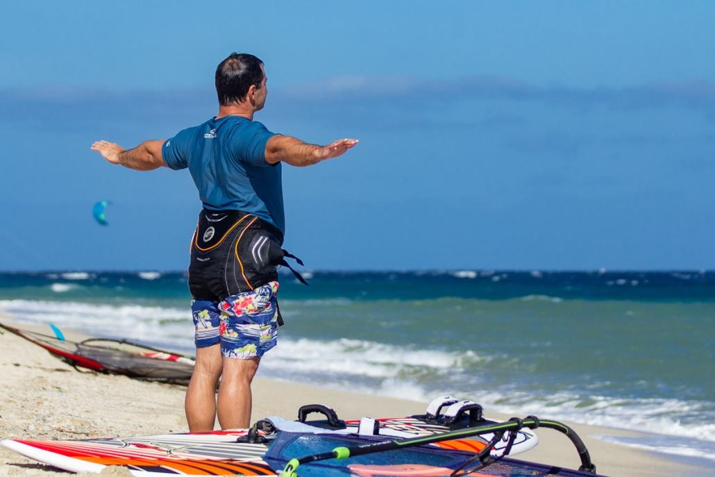 Pre surf contemplation