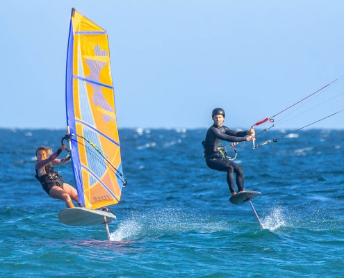 Windfoil and Kitefoil